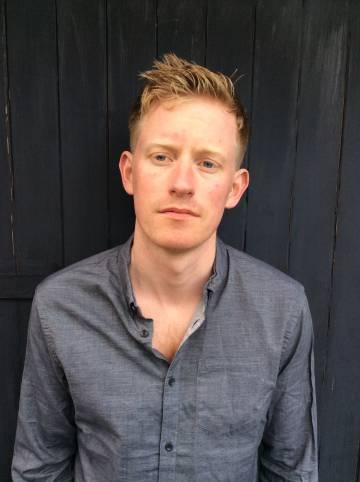 El escritor Colin Barrett.