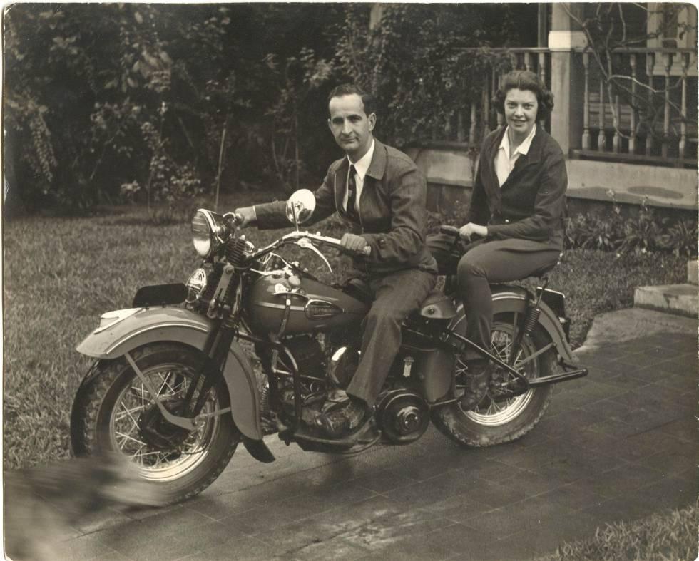 Henrietta Boggs y José 'Don Pepe' Figueres
