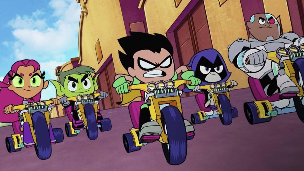 Teen Titans go! La película: Musical animado autoparódico ...