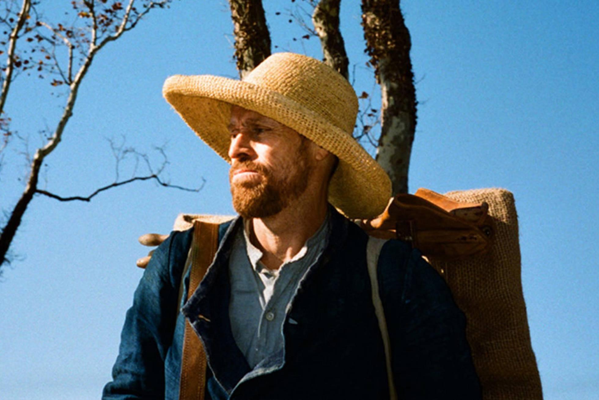 Willem Dafoe como Vincent Van Gogh. Crédito: CBS Films