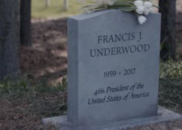 Netflix entierra a Frank Underwood en la última temporada de 'House of Cards'