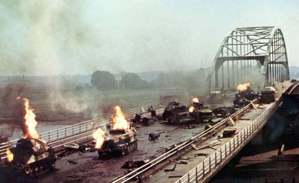 Imagen de 'Un puente lejano', de Attenborough.