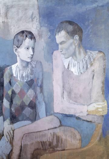 'Acróbata y joven Arlequín' (1905) de Pablo Picasso.