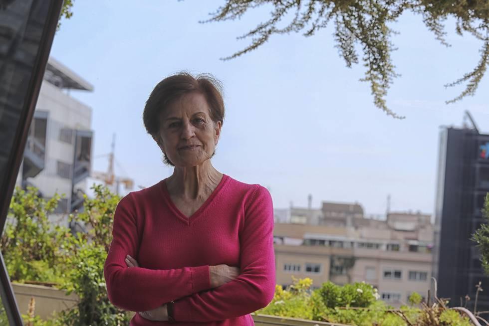 La catedrática, filósofa y escritora Adela Cortina, en 2017 en Barcelona.