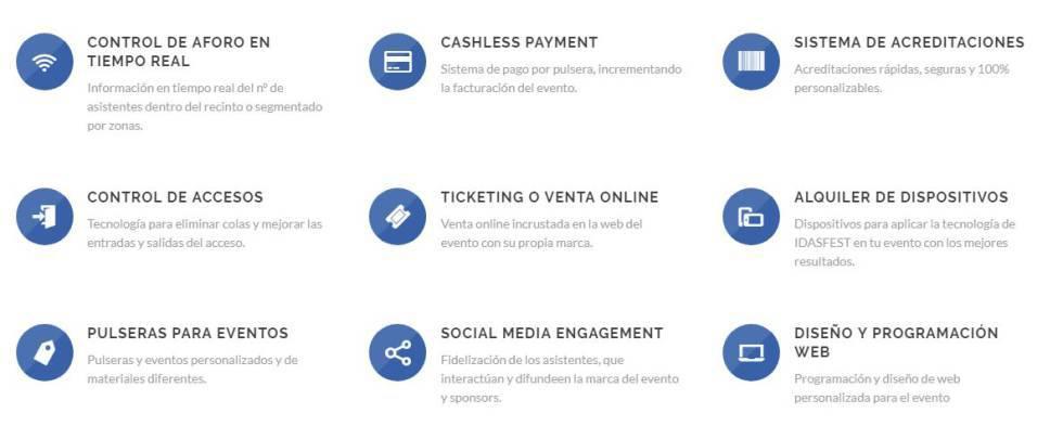 5e51eeafa720 IDASFEST  La información que esconden las pulseras de los festivales ...