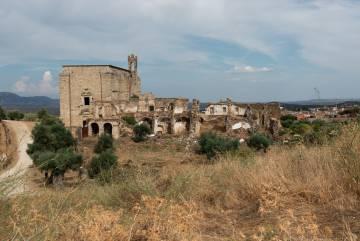 Vista general de monasterio de San Antonio de Padua.