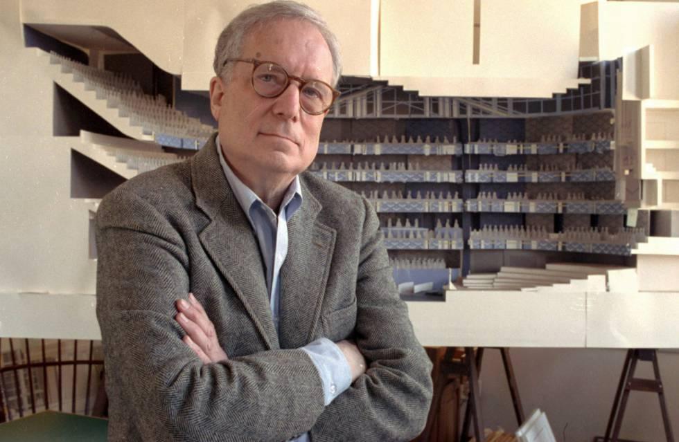 Robert Venturi, en abril de 1991, en Filadelfia.