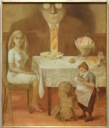 'Retrato de familia', pintado en 1954.