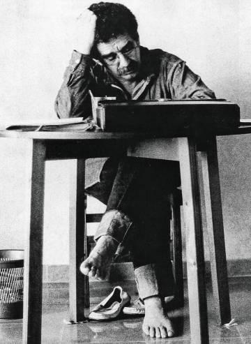 Gabriel García Márquez en 1972.