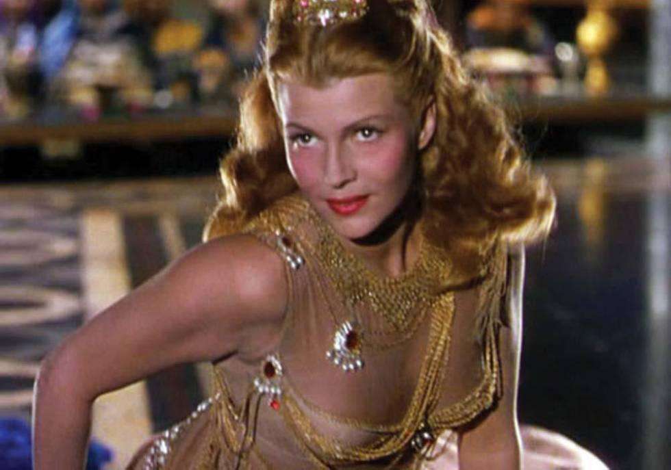 Rita Hayworth, en 'Salomé'.