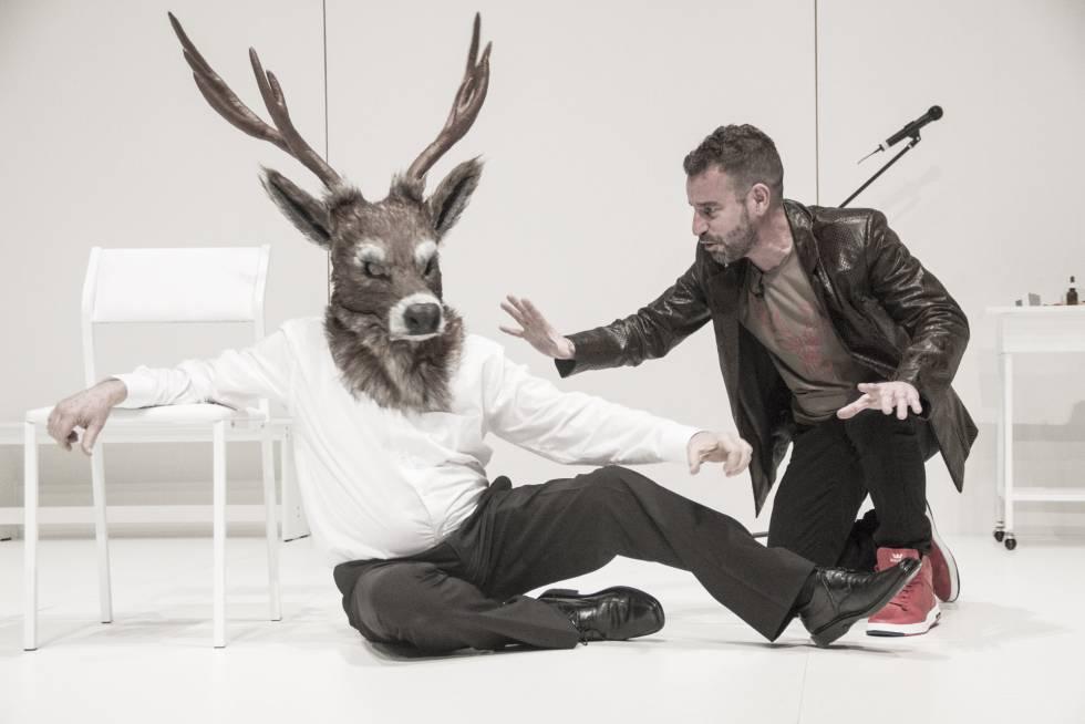 Escena de 'El bramido de Düsseldorf', de Sergio Blanco.