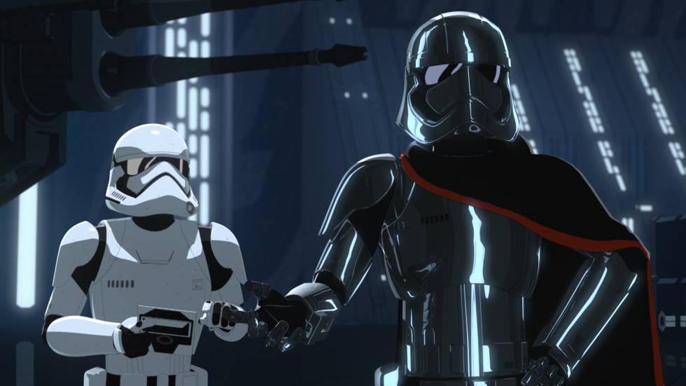 'Star Wars Resistance'.