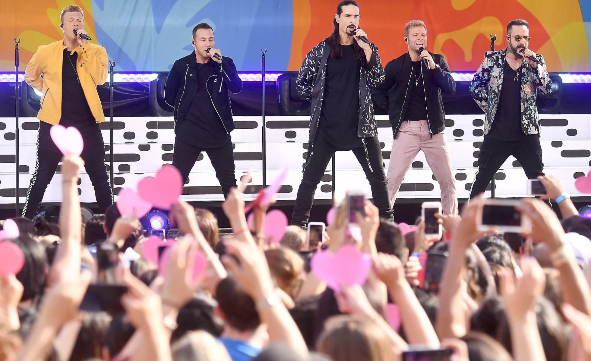"""Backstreet Boys: """"Somos la banda sonora de la juventud de los noventa"""""""