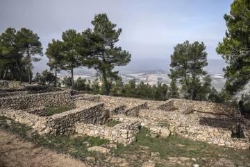 Yacimiento de La Bastida de les Alcusses, en Moixent.