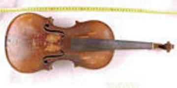 Stradivarius que se guarda en la Comandancia de Córdoba.