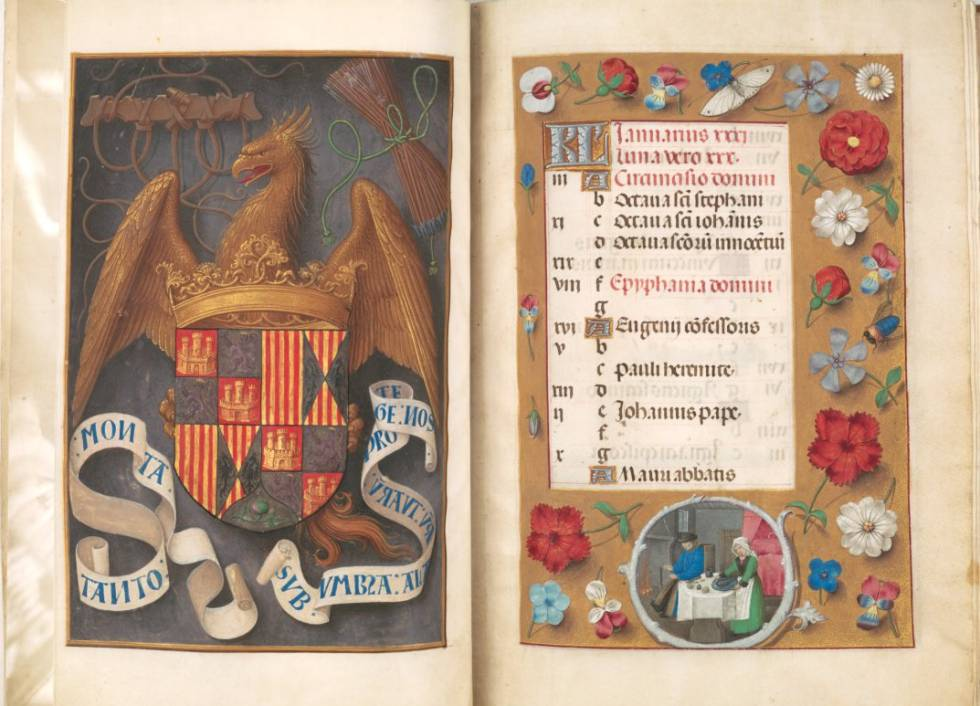 'Libro de horas de Isabel la Católica'.