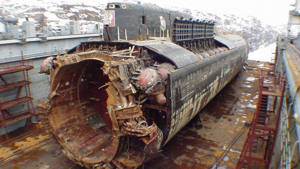 En el submarino 'Kursk' real las cosas fueron peor que en la película