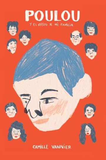 Portada de 'Poulou y el resto de mi familia', de Camille Vannier.