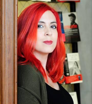 Ana Campoy en Madrid en diciembre.