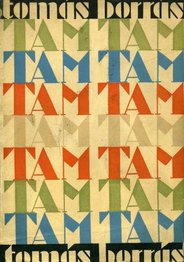 Cubierta de 'Tam tam', de Tomás Borrás, ilustrada por Garrán en 1931.