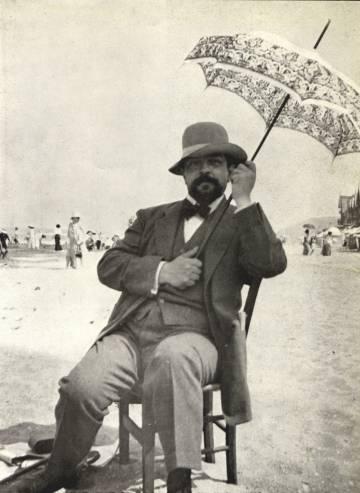 Claude Debussy, en 1911.