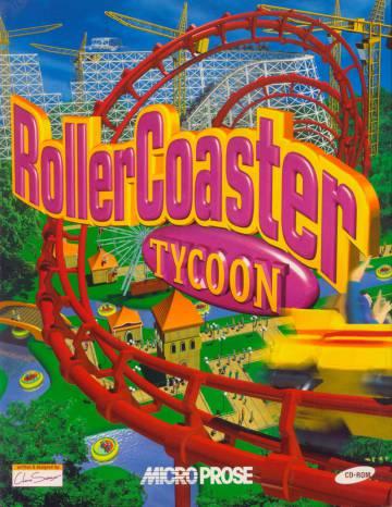 Portada de 'RollerCoaster Tycoon', una de las sagas más populares de Frontier Development.