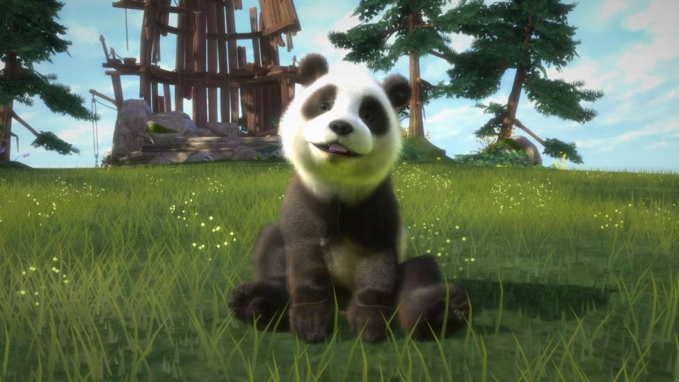Una imagen del videojuego de Xbox 'Kinectimals'.