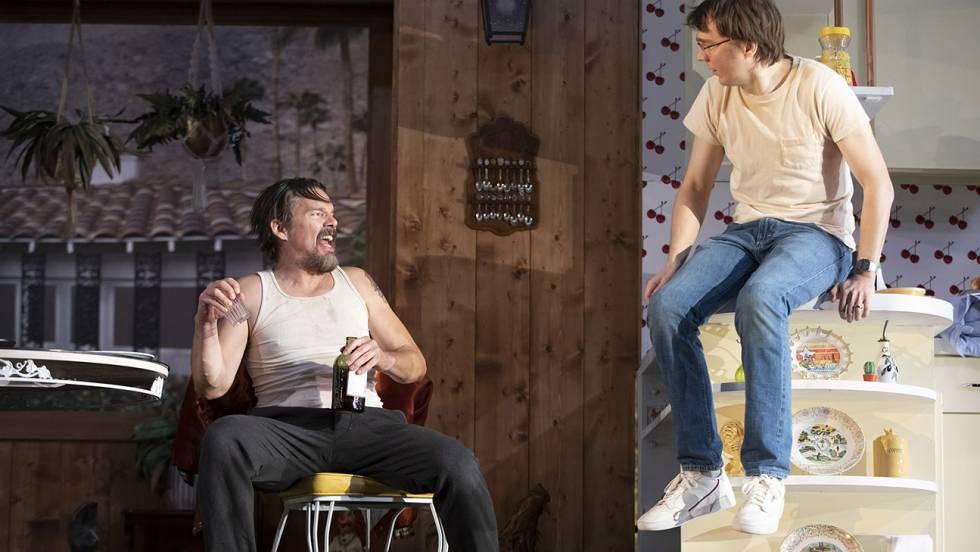 Ethan Hawke y Paul Dano en 'True West'.