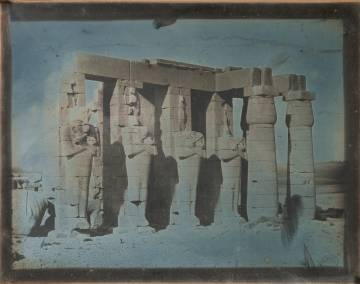 Ramesseum, Tebas, 1844