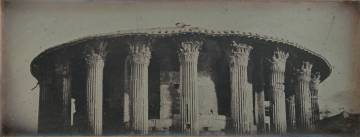 Templo de Vesta, Roma, 1842
