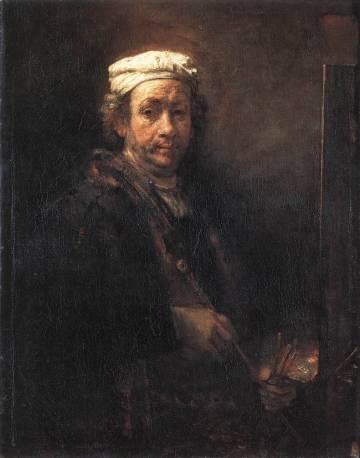 'Autorretrato' de Rembrandt de 1660.