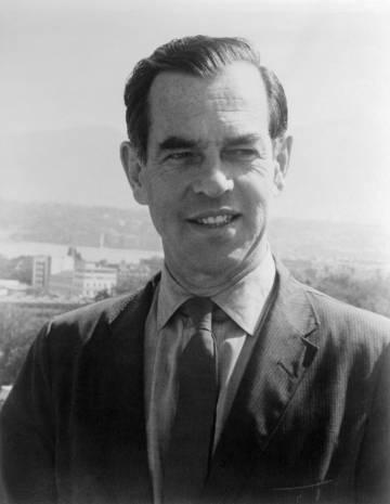El mitólogo Joseph Campbell.