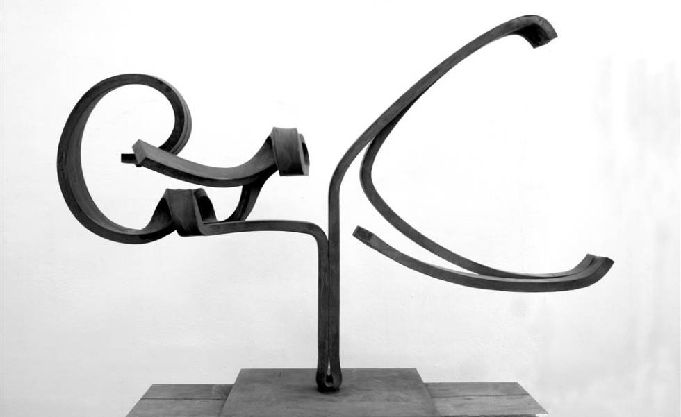 'Momentos II', obra de Martín Chirino.