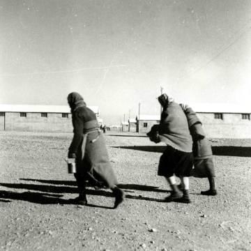 Campo de concentración de Rivesaltes, en 1942.