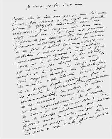 Albert Camus e René Char, biografia de uma amizade