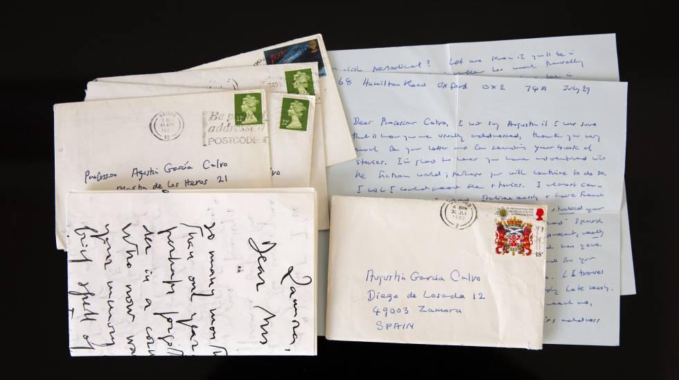 Cartas de la novelista irlandesa Iris Murdoch al poeta y filósofo zamorano
