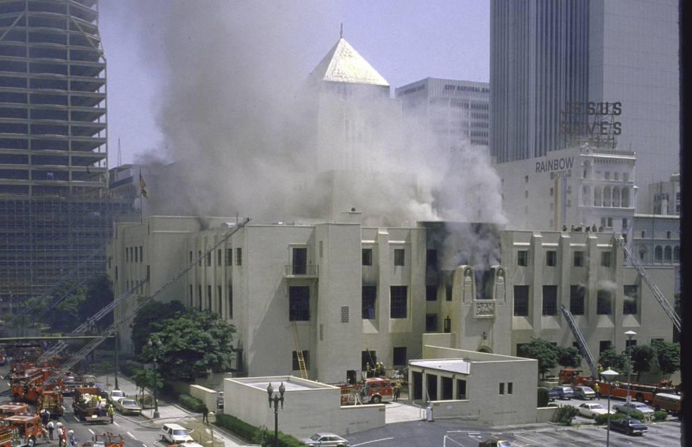 El día que Los Ángeles perdió un millón de libros | Cultura | EL PAÍS