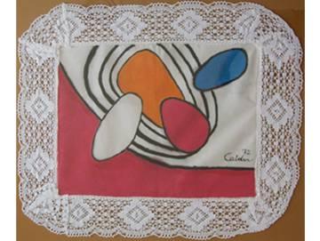 La obra que firmó Calder para la exposición de 1972.