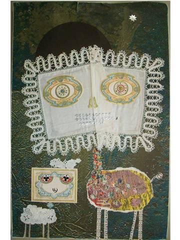 El tapete firmado por Tharrats para la expo de 1972.