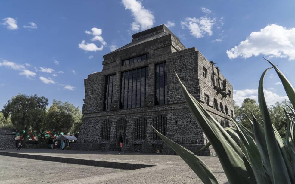 El museo Anahuacalli, en Ciudad de México.