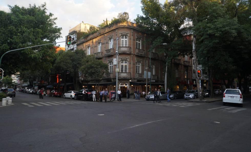 Una de las principales avenidas de la colonia Roma.
