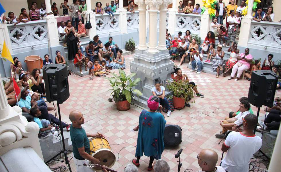 La fiesta de la literatura en Quibdó.