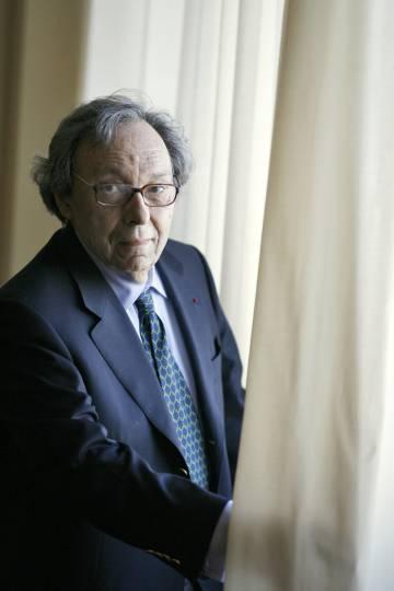 Jean Starobinski, filósolfo y escritor, en Madrid en marzo de 2009.rn