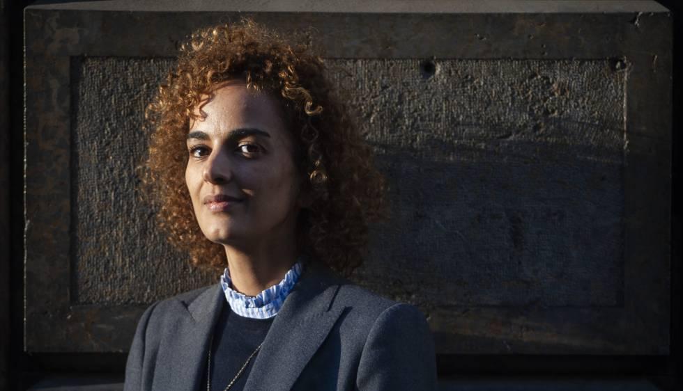 Barcelona, 01022019.Entrevista a la escritora Leila Slimani. (Foto: JUAN BARBOSA)