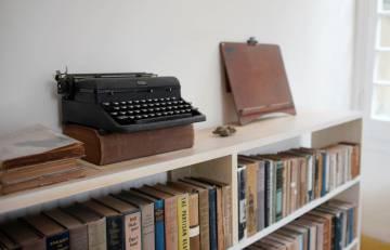 Máquina de escribir, en la Finca Vigía de La Habana.