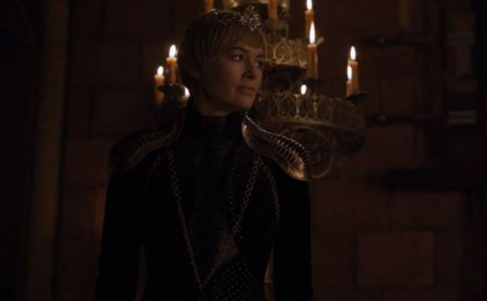 Lena Headey, en el papel de Cersei Lannister, en un fotograma de la octava temporada de 'Juego de tronos'.