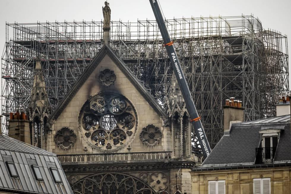 Balance de daños de Notre Dame