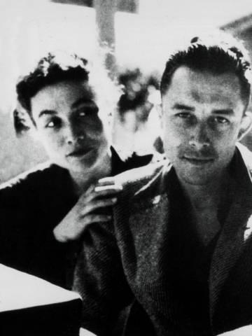 Albert y Francine Camus, 'circa' 1945.