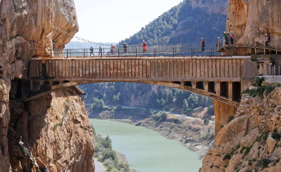El Caminito del Rey busca ser Patrimonio Mundial de la Unesco