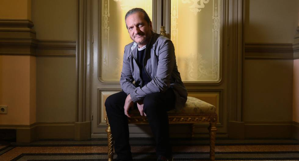 Darío Stajnszajber na Casa de América, em Madri, na terça-feira.